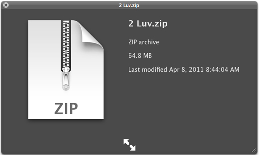 source audio zip file creation and downloads