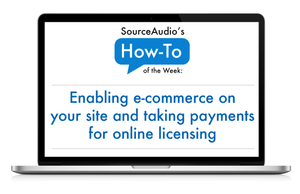 SourceAudio e-commerce