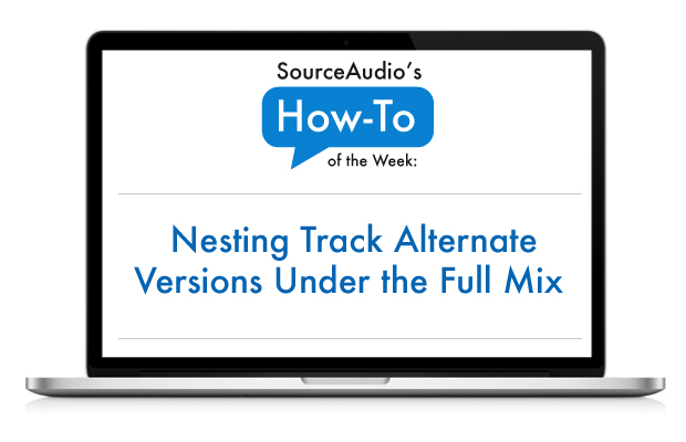 SourceAudio allows you to nest your alt versions under your full mixes