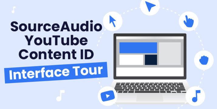 SourceAudio YouTube Content ID Interface Tour