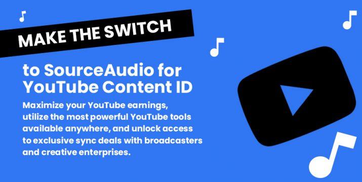 SourceAudio YouTube Content ID
