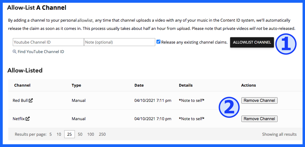 SourceAudio Content ID Panel 3