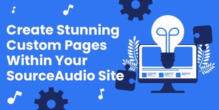 SourceAudio Custom Pages